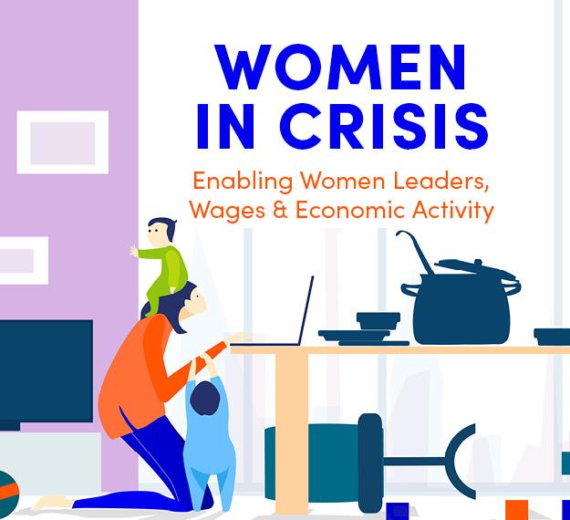 [Virtual] Women in Crisis: Enabling Women Leaders, Wages & Economic Activity