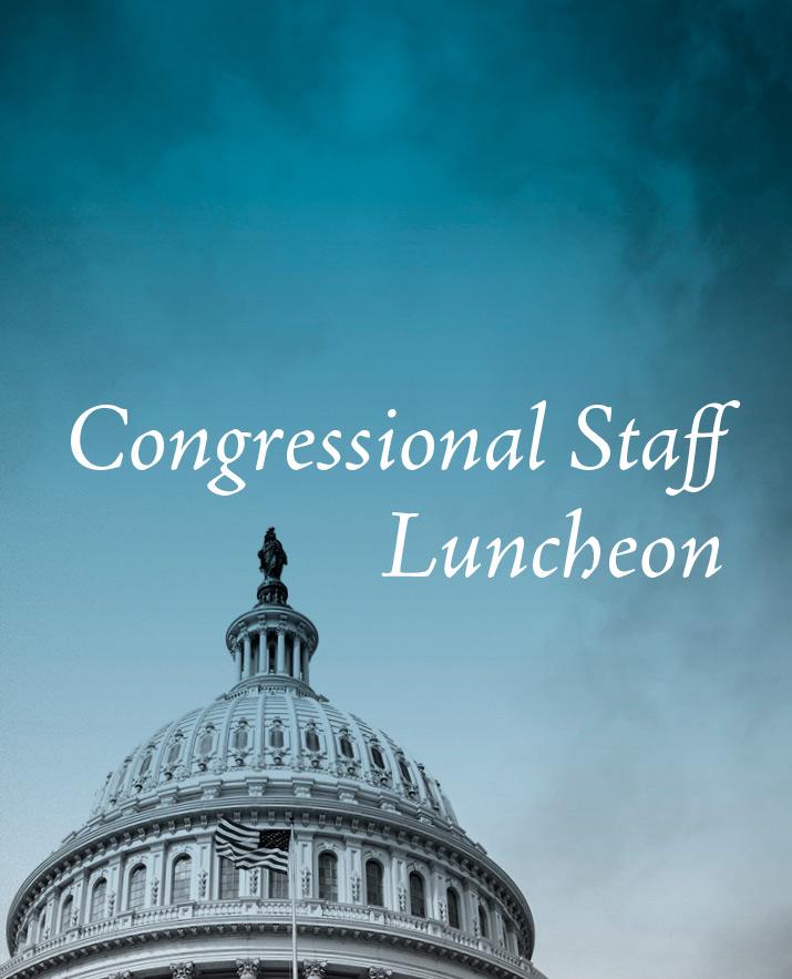 Congressional Staff Luncheon