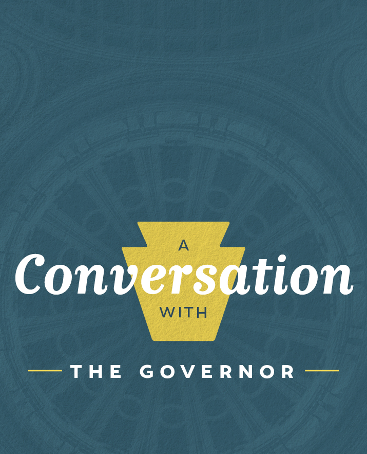 A Conversation with the Governor