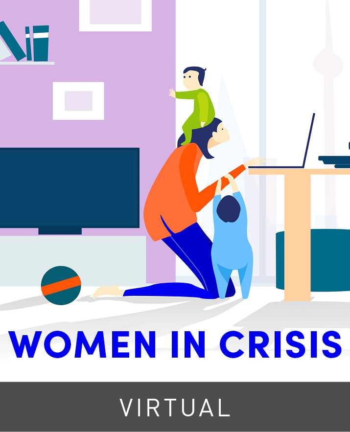 [Virtual] Women in Crisis: Enabling Women Leaders, Wages & Economic Activity